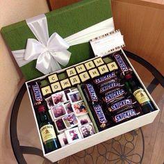 20 ideas for birthday diy gifts for husband Birthday Present Diy, Birthday Gifts For Husband, Boyfriend Birthday, Birthday Presents, Birthday Souvenir, Ideas Decoracion Cumpleaños, Birthday Box, Birthday Ideas, Birthday Woman