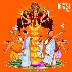 28 Happy Navratri Images & Wishes & Wishes For Durga Puja 2020 Happy Durga Puja, Durga Kali, Kali Puja, Durga Puja Kolkata, Happy Raksha Bandhan Images, Happy Navratri Images, Poster Background Design, Background Images, Baba Image