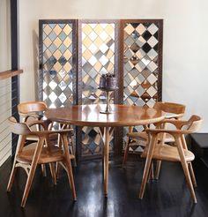 California oak dining set