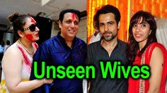 Top 10 Unseen Wives Of Bollywood Actors