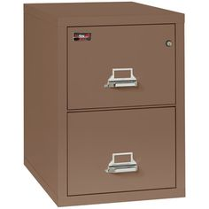 FireKing Fireproof 2-Drawer Vertical Letter File Finish: