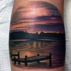 lake tattoo - Google Search