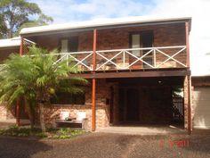 The Palms - beach at door   Hawks Nest, NSW   Accommodation
