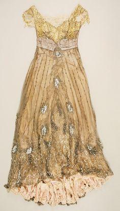 1907-8.Evening dress.Jacques Doucet. MET.