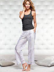 Women's Sleepwear: Pajamas, Slips, Sleepshirts, Shorts & Tees at Victoria's Secret