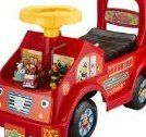 Sesame Fire Truck Fun Ride-On by Tek Nek