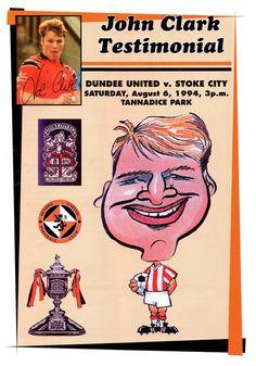 Dundee United 4 - 1 Stoke City - John Clark Testimonial