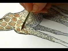 How to draw a Giraffe....and many more by Jan Brett. Awesome resource for Art when you need 30 minutes or so. Jan teaches the kids as well as shares actual footage of animals. Give the kiddies paper and push play.