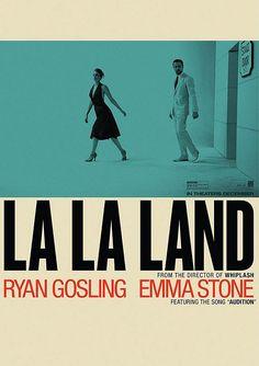 La La Land Movie Poster A4 Small Emma Stone Ryan Gosling