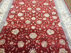 Traditionell Orientalisch Faraje woll und silk Nomade Teppich  Carpet 340 x 241