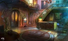 HotelHall by mltc on DeviantArt