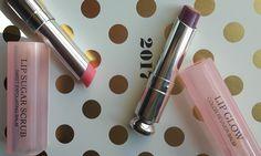 DiorAddict for the Dior addict -> Dior Addict Lip Sugar Scrub & Lip Glow in Berry #diorbeauty #diormakeup #dioraddict #lipsugarscrub #diorlipbalm