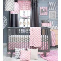 Baby Bedding Grey And Pink.Girl Crib Bedding Light Pink Gray Chevron And White . Baby Girl Crib Bedding: Pink And Gray Rosa Crib Comforter By. Pink And Gray Rosa Crib Bedding Pink And Grey Girl Baby . Home and Family
