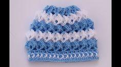 Gorrito a crochet a juego con trajecito muy fácil y rápido - YouTube