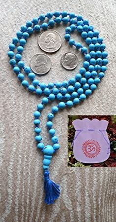 TURQUOISE 6 MM EXCLUSIVE HAND KNOTTED 108+1 BEADS JAPA MALA NECKLACE BLESSED & ENERGIZED (108+1) HINDU TIBETAN BUDDHIST PRAYER KARMA BEADS SUBHA ROSARY MALA FOR NIRVANA, BHAKTI, FOR REMOVING INNER DOSHAS, FOR CHANTING AUM OM, FOR AWAKENING CHAKRAS, KUNDALINI THROUGH YOGA MEDITATION null http://www.amazon.com/dp/B00L4CFU1M/ref=cm_sw_r_pi_dp_2futub0C4YXT5