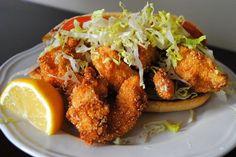 Shrimp Po' Boys with Spicy Homemade Tartar Sauce recipe on Food52