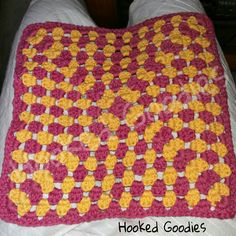 Granny Square placemat Placemat, Goodies, Blanket, Crochet, Products, Sweet Like Candy, Gummi Candy, Ganchillo, Blankets