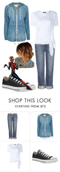 """""""Strange Magic"""" by beth1388 ❤ liked on Polyvore featuring Paige Denim, rag & bone, Dolce&Gabbana and Converse"""