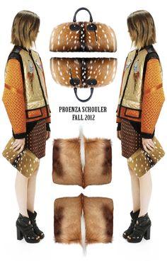 PROENZA SCHOULER HANDBAGS FALL 2012