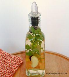 Vinagre  de maçã aromatizado