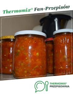 Sos warzywny do makaronu/mięsa na zimę jest to przepis stworzony przez użytkownika SandraKK. Ten przepis na Thermomix<sup>®</sup> znajdziesz w kategorii Sosy/Dipy/Pasty na www.przepisownia.pl, społeczności Thermomix<sup>®</sup>. Calzone, Salsa, Food And Drink, Drinks, Cooking, Recipes, Kitchens, Thermomix, Drinking