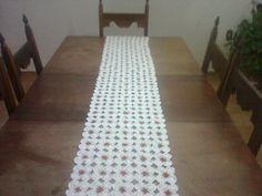 Crochê, caminho de mesa. - Uberaba - Produtos prontos - produtos