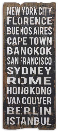 CITY NAMES I