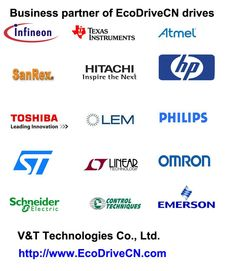business partners of V&T Technologies Co., Ltd. EcoDriveCN AC inverter drives, servo drives, motor soft starters... http://www.EcoDriveCN.com/about.htm