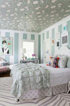 teenage girl bedroom ideas bright colors Decorative Bedroom
