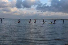 Glij met een sup of kano over de Waddenzee. Dat kan tijdens de Waddenzee Werelderfgoedweek op Vlieland.