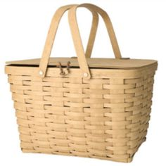 Longaberger baskets - always wanted the picnic basket to add to my collection...one of these days!