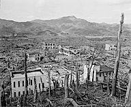 The U.S. bombing of the Japanese city of Hiroshima was the first use of the atomic bomb