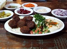Best Kosher Corridor Restaurants in LA - Pico /Robertson area -Falafel at Ta-eem Grill