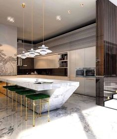 Modern kitchen design 😱 What are your thoughts on it? Kitchen Inspirations, Home Decor Kitchen, Kitchen Furniture Design, Kitchen Room Design, Kitchen, Luxury Kitchen, Kitchen Room, Modern Kitchen Design, Contemporary Kitchen