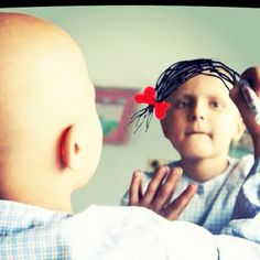 Disney needs to make a princess with no hair so little girls who have cancer feel pretty too.<3
