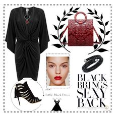 """""""LBD: Sexy Combine"""" by anifitria-af on Polyvore featuring MISA Los Angeles, Paul Andrew, Swarovski, LBD and fashionology"""