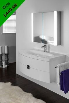 Order Your Aura 400 Cabinet Mirrors From Illuminated UK And Enjoy Free Next Day Delivery A Year Warranty On Our Entire Range