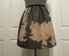 The Known World of GoT full skirt  made to by NerdAlertCreations, $45.00