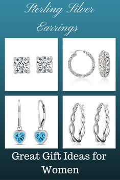 An outfit is not complete if jewelry is not added. Make a casual outfit look classy with a cute pair of earring and a bracelet. Earrings are a great gift idea. sterling silver studs earrings, small sterling silver stud earrings