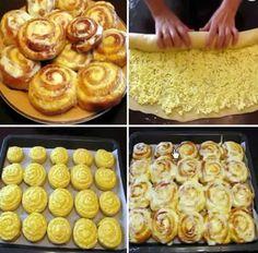 49 ideas breakfast recipes sweet butter for 2019 Breakfast Bake, Breakfast Recipes, Baking Recipes, Cookie Recipes, Bread Recipes, No Bake Desserts, Dessert Recipes, Sweet Butter, Russian Recipes