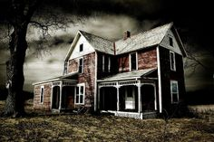 Gimped! Gimp Tutorials: Gimp Tutorial: How To Use Gimp to Make the Abandoned House Creepy