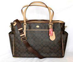 Coach Diaper Bag <3