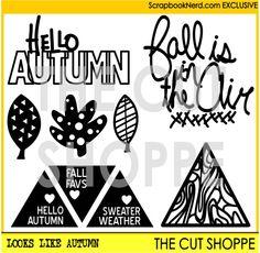 Exclusive free digi cut file. ScrapbookNerd.com and The Cut Shoppe