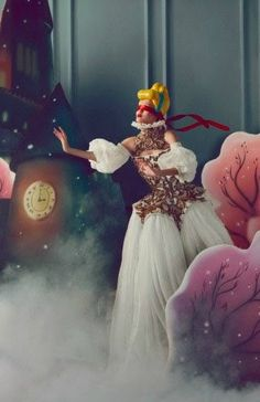 """The Dream of the Dress"" Harper's Bazaar China December 2013"