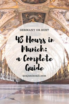 Planning a trip to Munich? Don't get overwhelmed with the many cultural attractions in Munich! Instead, take a look at this Munich travel guide. It's full of great things to do in Munich, as well as places to eat and stay! Start your Bavarian adventure today! via @acajunincali