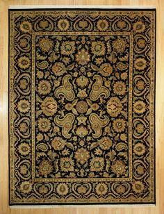 9'2 X 12'3 Traditional Hand Knotted Rug
