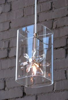 Lighting - Petit Flower Glass Hanging Pendant Light