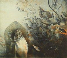 Jorg Schmeisser Work In Australia, Occult Art, Printmaking, Wild Flowers, Creepy, Fairy Tales, Deer, Artists, Illustration