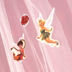 After just a few seconds in the oven, these Disney Fairy charms can be turned into jewelry, hair accessories, or even a beautiful mobile!