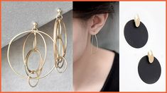 Our best-selling Loop Clusters Post earrings, Svelte D Hoop earrings and Ovi ear jacket by Pursuits are great examples of this trend. Ear Jacket, Matte Black, Hoop Earrings, Jackets, Jewelry, Fashion, Down Jackets, Moda, Jewlery
